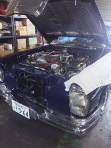 9号ブログ. 1964年  ベンツ 300 SE  クーペ  .W112.  W111.エァーサス 修理    その  1