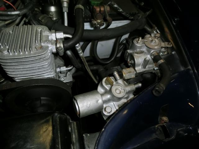 27号ブログ .1964年 ベンツ 300SEクーペ. W112.W111. エアーサス 修理 その5