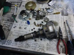 29号ブログ .レンジローバー・クラシックレンジ、 エンジン 不調 整備 その 2・ 電気系