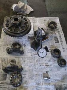 32号ブログ.CRR.レンジローバー・クラシックレンジ・フロント デフ・駆動系 修理 その1