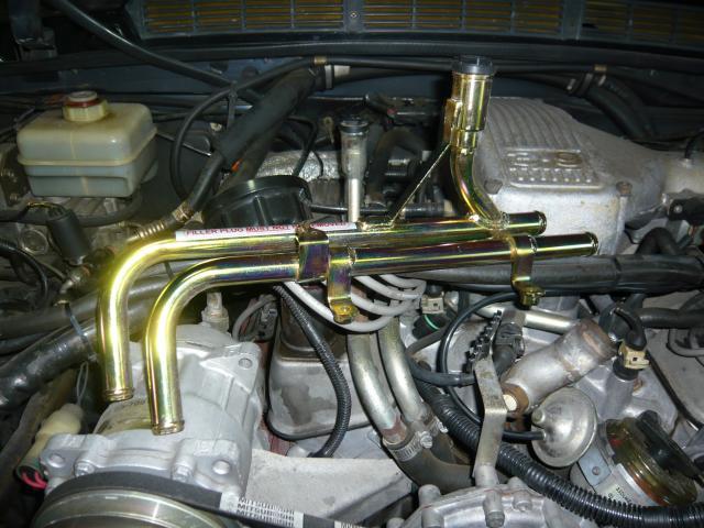 レンジローバー .クラシック. オーバーヒートの 修理に付いて 冷却系 その4