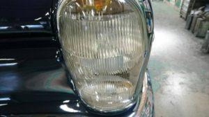 40号ブログ 1964年 ベンツ 300SEクーペ. W112 .W111.ライト回り 修理 その2