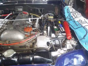 42号ブログ 1964年 ベンツ 300SEクーペ. W112.W111. エンジン不調 修理 その1
