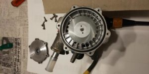 49号ブログ 1964年 ベンツ 300SEクーペ. W112.W111. エンジン不調. 燃料ポンプ修理 その1