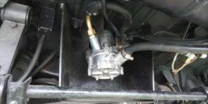 55号ブログ 1964年 ベンツ 300SEクーペ. W112.W111. エンジン不調 燃料ポンプ修理 その3