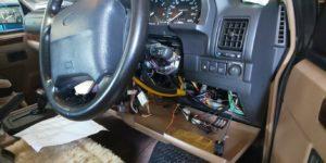 71号ブログ レンジローバー・CRR・クラシックレンジ・イグニッションスイッチ 交換