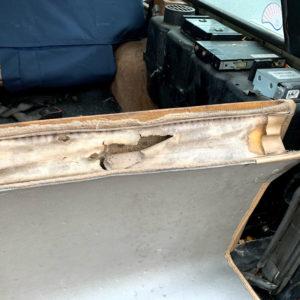 78号ブログ. CRR.レンジローバー.ランドローバー・ フロアーマット修理 その1