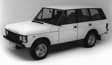 1982 Range Rover 4 door
