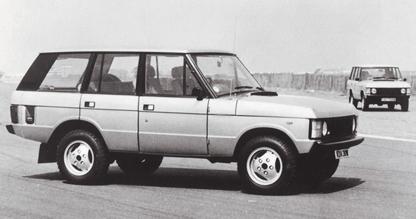 1982 Range Rover 4-door