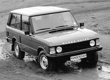 1985 Range Rover - 2 door