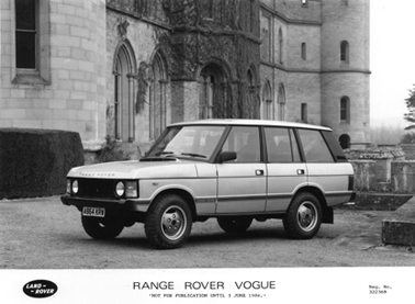 1985 Range Rover Vogue
