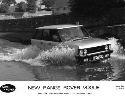 1986MY Range Rover Vogue