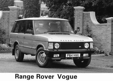 1989 Range Rover Vogue