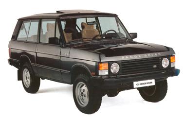 1990 Range Rover 20 Anniversary - France