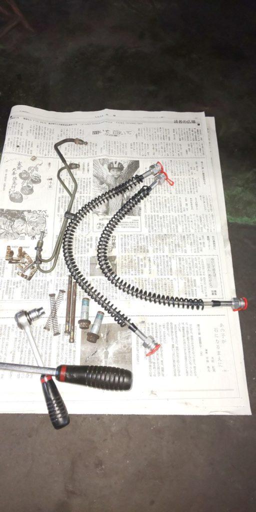 15号ブログ.CRR. レンジローバー .クラシック ・ ブレーキ 修理 制御系 その 2