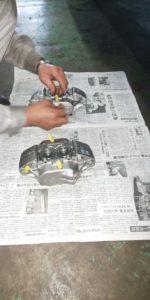 14号ブログ. CRR.レンジローバー. クラシック ・ ブレーキ 修理 制御系 その1