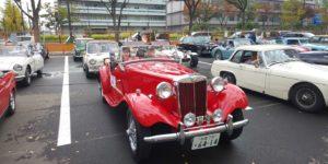 77号ブログ THE銀座RUN  2020 秋 旧車の集い