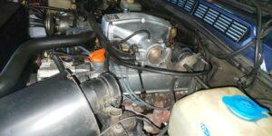 84号ブログ 触媒(ショクバイ)の交換 異音 排気漏れ 修理 その2