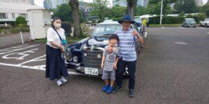 86号ブログ クラッシクカー イベント THE 銀座 RUN 2021 春